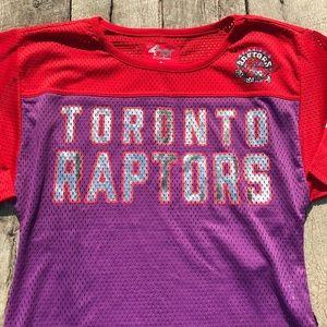4Her Toronto Raptors Ladies Jersey Small